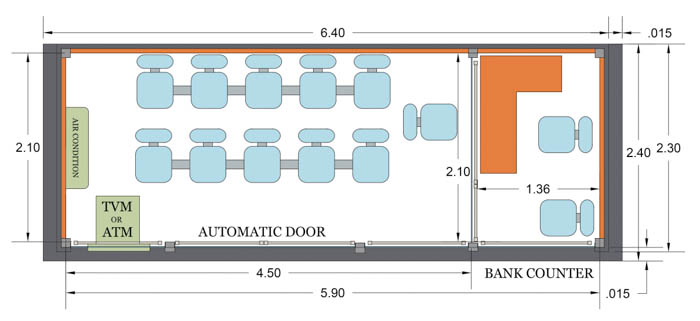 bus station plan